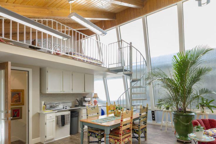 The studio spiral stair · spiral stairminimalist interior