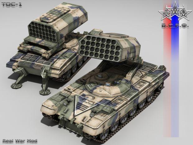 tos-1 | TOS-1 image - Real War Mod Mod for C&C Generals: Zero Hour - Mod DB