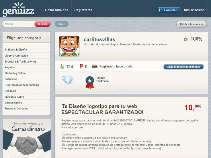 Carlitosvillas Illustrator & creative Graphic Designer. Customizador de interfaces. http://www.geniuzz.com/carlitosvillas