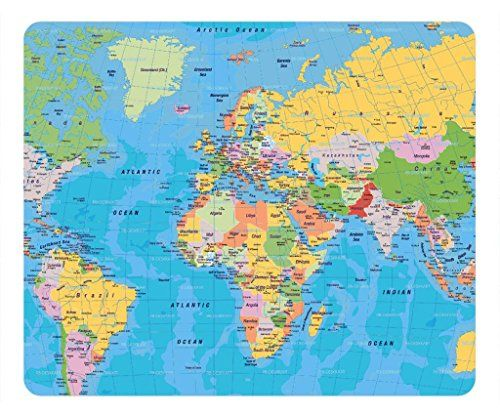 30 best mousepads images on pinterest amazon fashion design and 1 x world map digital art mousepadcustom rectangular mouse pad gumiabroncs Image collections