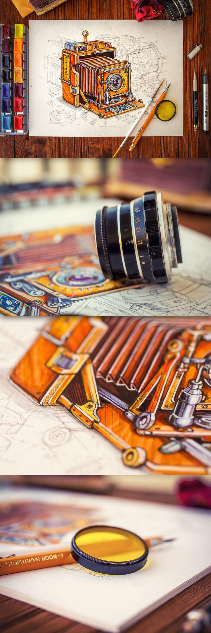 Steampunk Camera XXL - Amazing work by Mike - Creative Mints