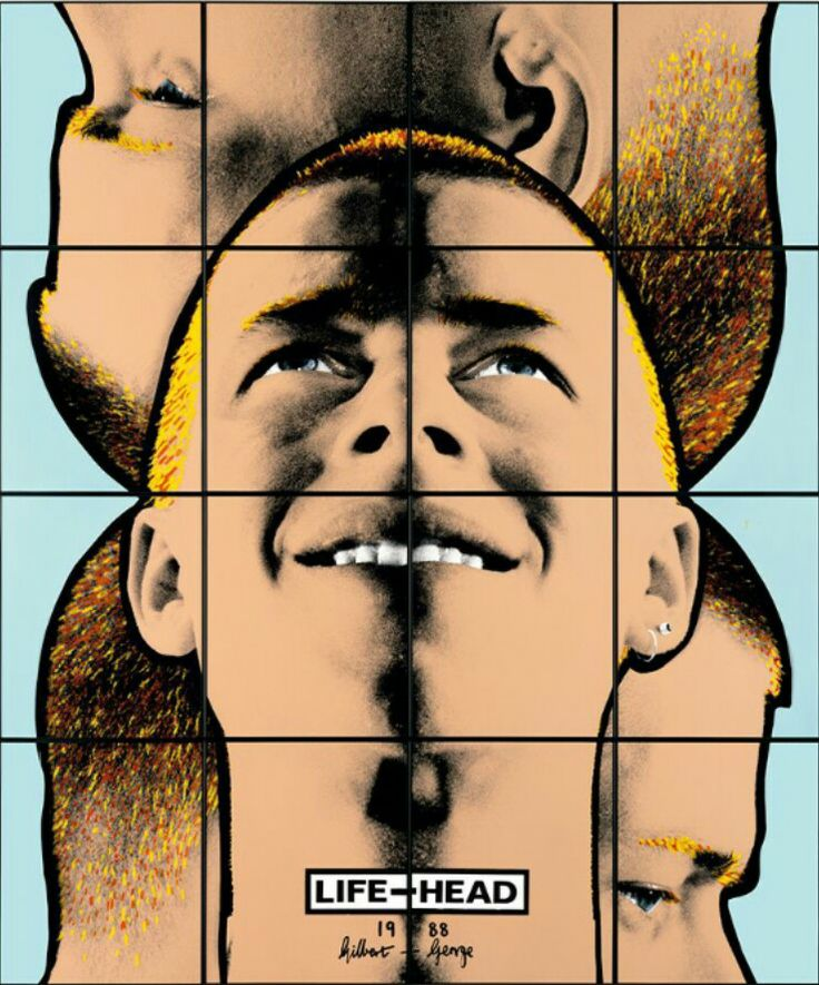 Life-Head (1988) Gilbert and George