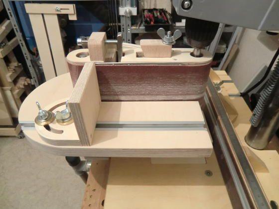 Bandschleifer aus Holz? ... Warum Nicht! Bauanleitung zum selber bauen Selber machen