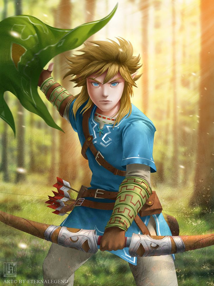 A new artwork of Zelda Wii U's Link. I am *so excited* for this game. I've changed his looks slightly from what we see in the trailer to suit my style a bit more. -- More of my art on: Facebook www...