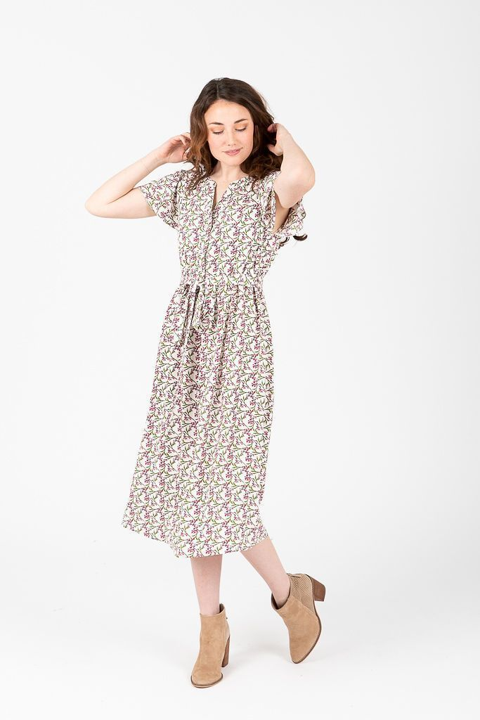 bee81a0fc The Madeline Tiny Floral Button Dress in Spring in 2019 | style ...