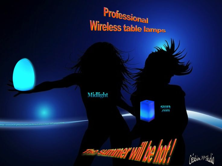 Table lamp wireless: PREMIUM RANGE   These lamps wireless upscale are acrylic glass waterproof (IP44) and resistant to shocks. CE standard. Do not hesitate to contact us for any further information. (professional among the most competitive price) http://www.midlightsun.com/cordless-table-lamps-197-en-us.html