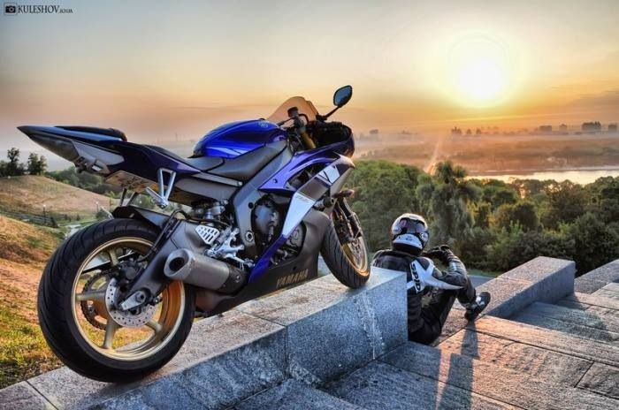 Motorcycle sunrise, sunset | Motorcycles that I love ...