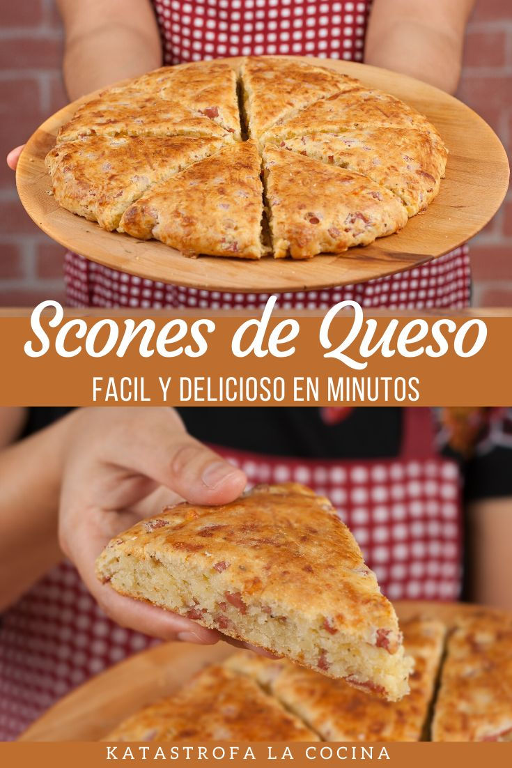 How I make Cheese Scones or cheese bread. Very easy,quick and taste like pizza. Easy and delicious in minutes Cheese Scones, Cheese Bread, Ham And Cheese, My Favorite Food, Favorite Recipes, My Favorite Things, Cooking, Easy, Desserts