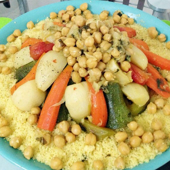 Moroccan Semolina Veggetable Chickpea Couscous LolChef
