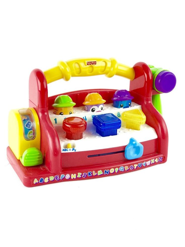 Fisher Price Laugh Amp Learn Learning Toolbench 123 Abc