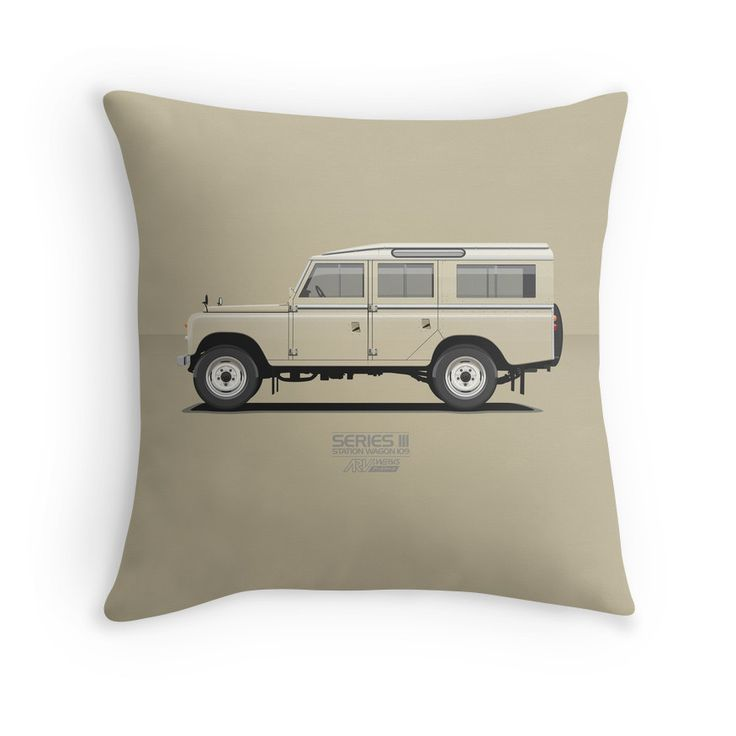 Series 3 Station Wagon 109 Limestone #landrover #landroverseries #redbubble @redbubble