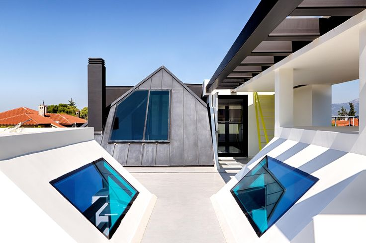 #Architizer #Architizerawards #Architecture #Colour #Dream #House #Exterior #Conceptual #Design #Kipseliarchitects
