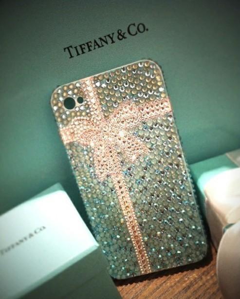 Tiffany's ahhhhhhhhhhh!Cell Phones Cases, Iphone Cases, Iphone 4S, Christmas Presents, Tiffany Blue, Phones Covers, Iphonecases, Iphone 4 Cases, Bling Bling