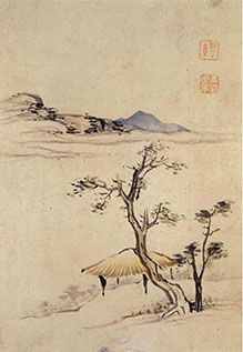(Korea) by Gang Se-hwang (1713- 1791). color on paper. ca 18th century CE.