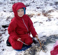 "Check out this article to learn how a ""forest kindergarten"" in Zurich builds fires and braves the snow."