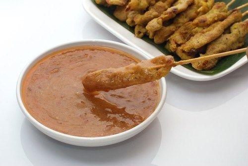 Арахисовый соус для мяса на гриле