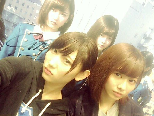 欅坂46 志田愛佳 渡邉理佐 Keyakizaka46 Shida Manaka Watanabe Risa