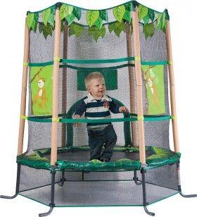 Junior Kiddy Jungle Theme Trampoline† $98