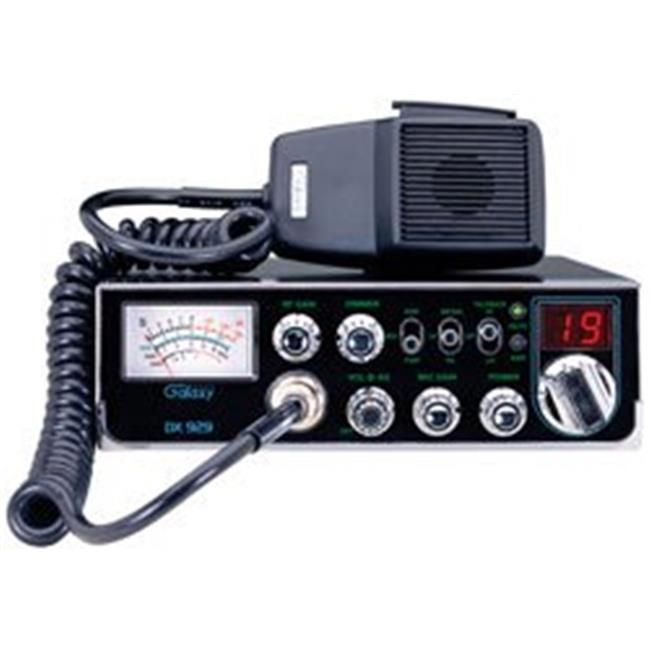 Galaxy Dx 929 Cb Mob 40ch Am Swr Dimmer Frnt Mic Jack Cb Radio Cb Radios Citizens Band Radio