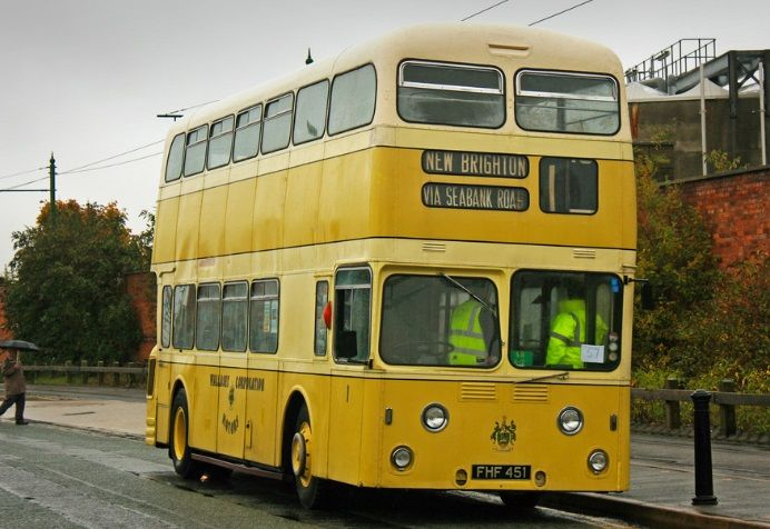 Old Wallasey bus