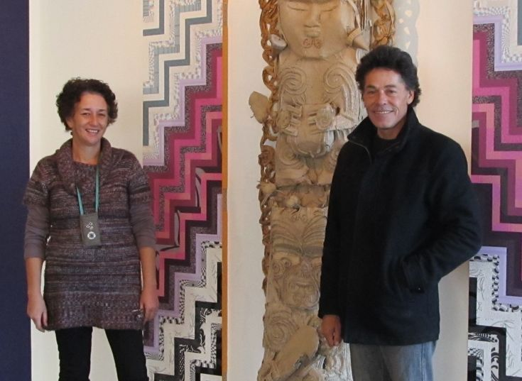 ātahirā - the day after tomrrow at Hastings City Art Gallery, NZ.  Artists Emanuel Dunn and Raewyn Tauira Paterson