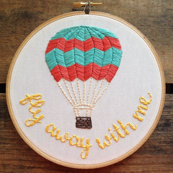 This hoop comes in a size 6 hoop, but its available in other sizes if youd like! Let me know if youd like different thread colors. I can also write