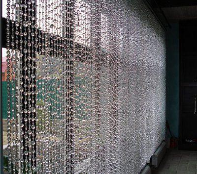 M s de 1000 ideas sobre cortinas para puertas de cuentas - Cortinas hechas en casa ...