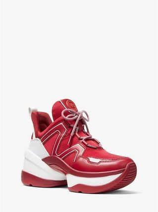 9ab1d2e4f8229 Michael Kors 2019 SS Platform Platform   Wedge Sneakers by cubbyy13 - BUYMA