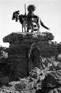 "Cheyenne Dog Soldier. ""The Dog-Man (Dog Soldier) Society was organized after the organization of the other societies, by a young man without influence, but who was chosen by the great Prophet."