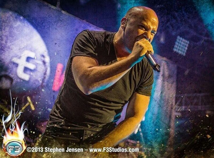 David Draiman of Disturbed. I LOVE this man, this band, the music.