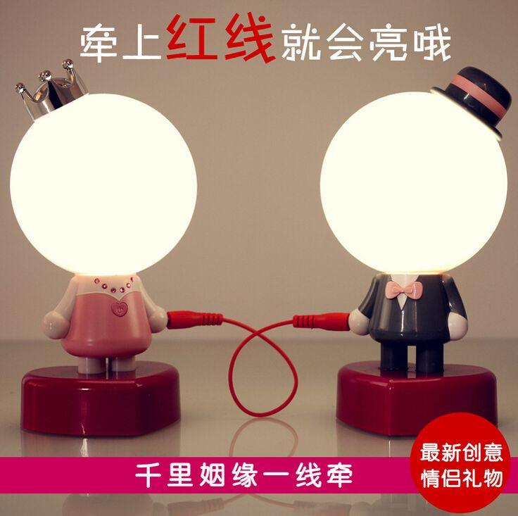 Междугородной романтики и string пары меблировки статьи спальне свет лампы глава подарки для мальчиков и девочек