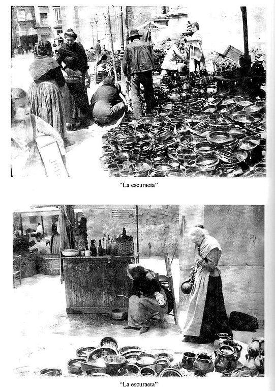 La Escuraeta , fotografía de principios del siglo XX