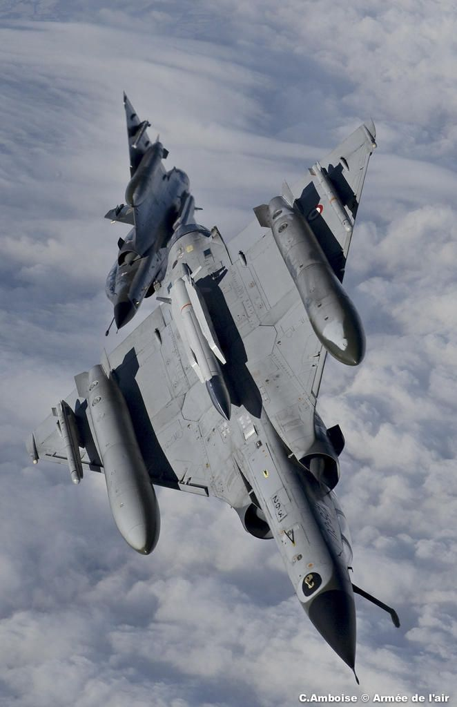 French Armée de l'Air Dassault Mirage 2000Ns.