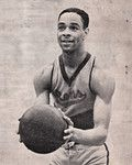 Basketball Hall of Fame member William 'Pop' Gates of the New York Renaissance ('Rens').  © Black Fives, Inc. All rights reserved.