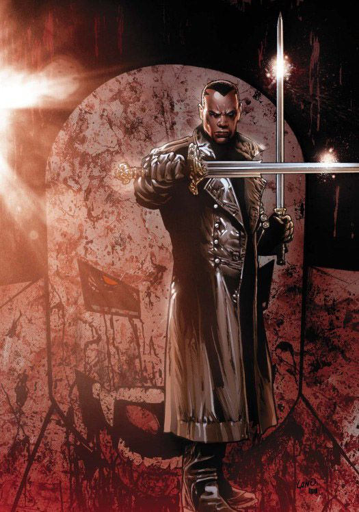 Blade - by Greg Land | man, I wish Marvel knew how to use the man who put Marvel films on the map.