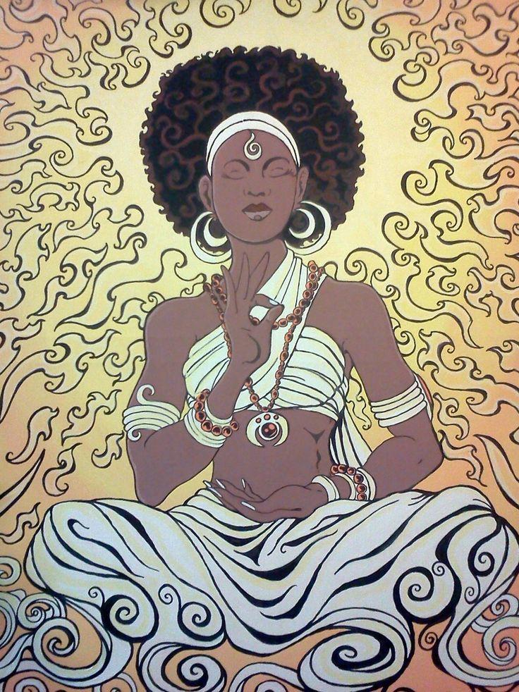 Black Women Art!, Sienna Sunrise by ~Dharmajon