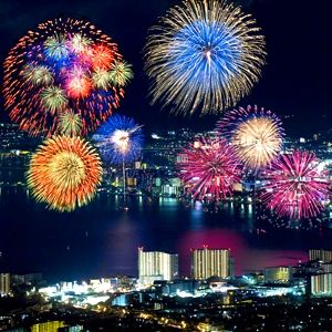 bucket list#21 -watch fireworks  all night
