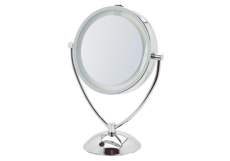 Dual Level LED Vanity Lighted Mirror