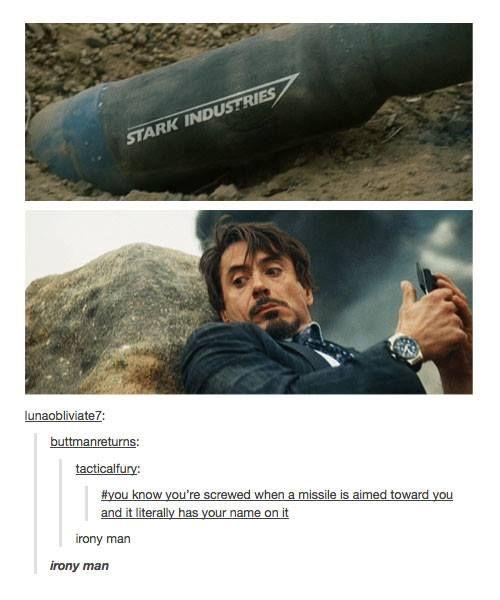 Tony Stark problems... #irony