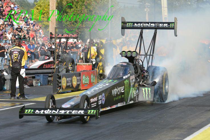Monster top fuel car