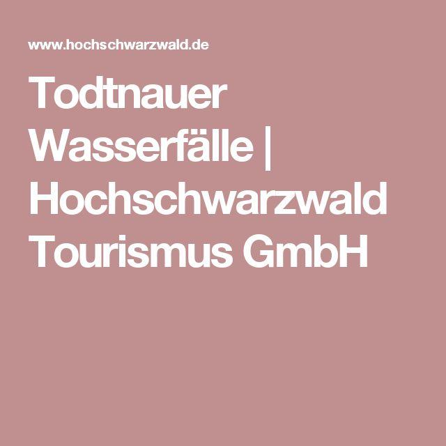 Todtnauer Wasserfälle | Hochschwarzwald Tourismus GmbH