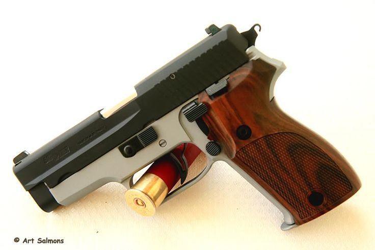 SWISS GUNS — A seriously upgraded SIG-Sauer P225/P6...