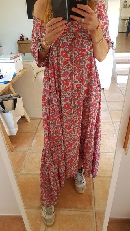 Robe longue boheme Chantal B - vinted.fr   Maxi maxi   Pinterest ... 7fbf7081f08