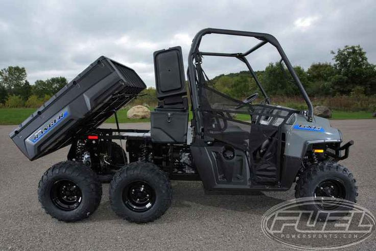 New 2016 Polaris RANGER 6x6 Avalanche Gray ATVs For Sale in Wisconsin.