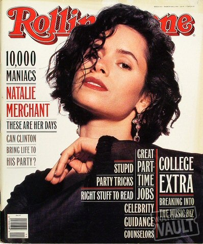 10,000 Maniacs & Natalie Merchant. I have tried to keep this cover in immaculate condition, Ms. Merchant  8)