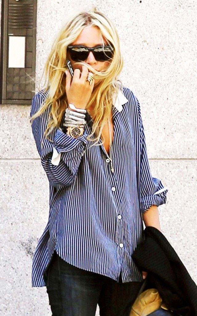 Olsen trends. Gah I miss my snake bracelet