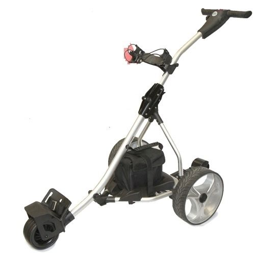 Spitzer R5 Digital - Remote Control Golf Trolley  Tired of manually dragging your golf clubs all over the course? With this golf trolley you won't have to. Let the Spitzer R5 Digital Remote Control Golf Trolley be Your Caddy. For more details visit https://www.sunrisegolfcarts.com/Spitzer-p/sp-r5-ca.htm