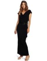 Calvin Klein Women's Missy Cowl Neck Maxi Dress