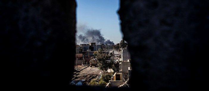 Het valt het Iraakse leger zwaar om Mosul van ISIS te ontdoen. 'De meest intensieve stadsoorlog sinds Beiroet', rapporteert het Amerikaanse leger.