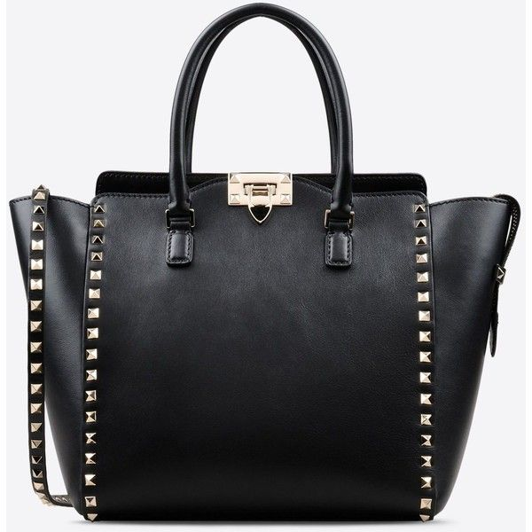 Valentino Garavani Rockstud Double Handle Bag 16 680 Sek